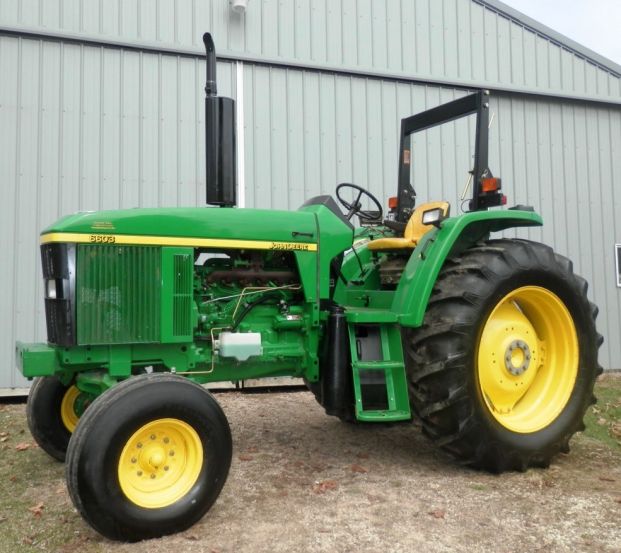 John Deere 6603 2WD tractor with 803 hours on it
